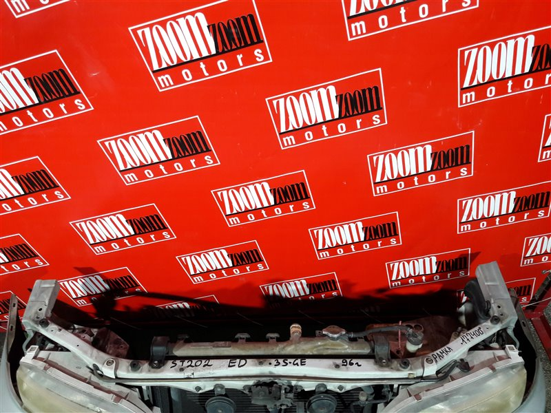 Рамка радиатора Toyota Carina Ed ST202 3S-GE 1996 передняя серый