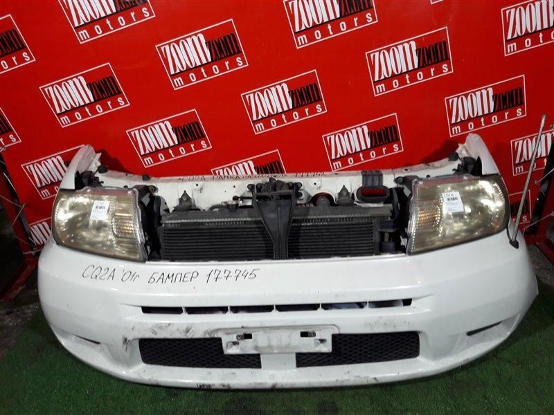 Бампер Mitsubishi Dingo CQ2A 4G15 2001 передний белый