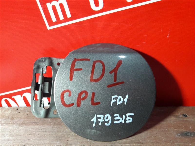 Лючок топливного бака Honda Civic FD1 R18A 2005 темно-серый