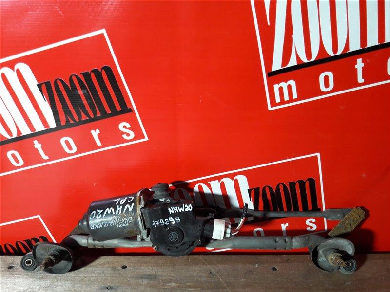 Привод (мотор) стеклоочистителей Toyota Prius NHW20 1NZ-FXE 2003