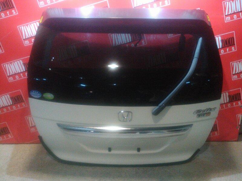 Дверь задняя багажника Honda Edix BE1 D17A 2004 задняя белый