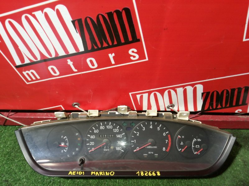 Комбинация приборов (спидометр) Toyota Sprinter Marino AE101 5A-FE