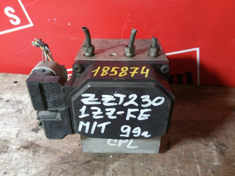 Блок abs (модулятор abs) Toyota Celica ZZT231 1ZZ-FE 1999