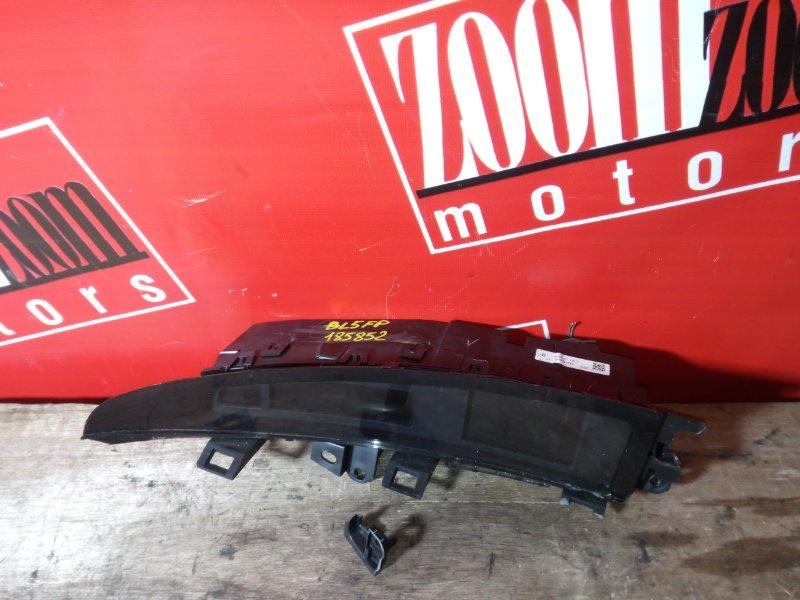Консоль панели приборов Mazda Axela BL5FP ZY-VE 2009