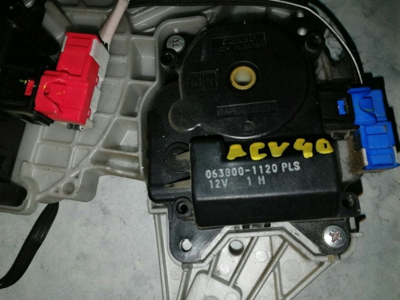 Привод заслонок отопителя Toyota Camry ACV40 2AZ-FE 2006