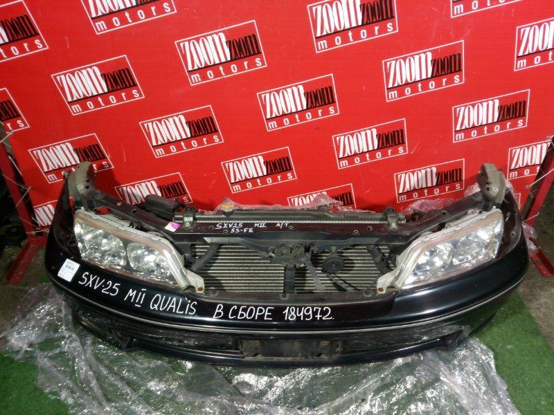 Nose cut Toyota Mark Ii Qualis SXV20 5S-FE 2001 зеленый