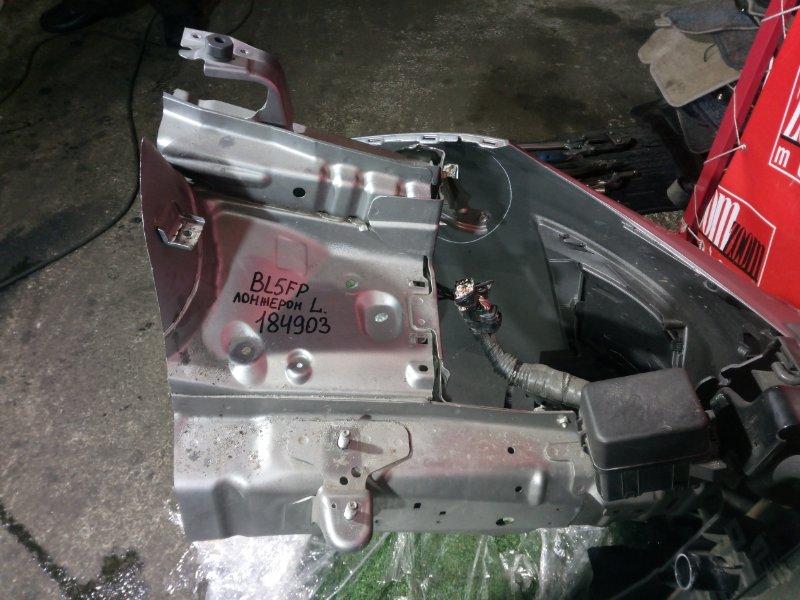 Лонжерон Mazda Axela BL5FP ZY-VE 2009 передний левый серебро