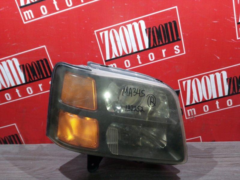 Фара Suzuki Wagon R Solio MA34S M13A 2000 передняя правая