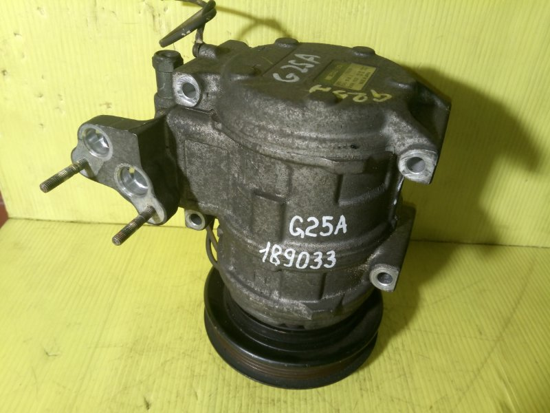Компрессор кондиционера Honda Ascot CE4 G25A