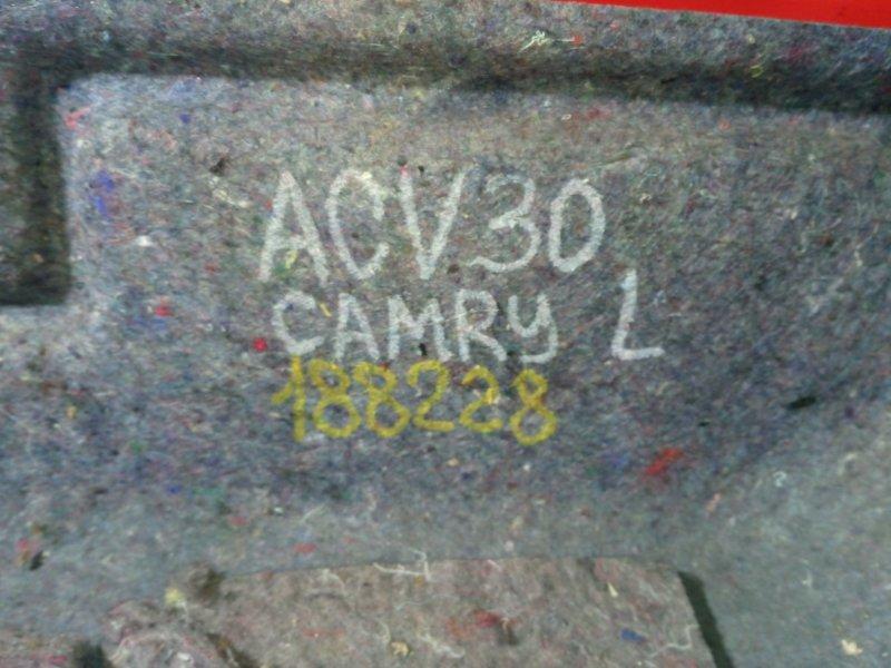 Обшивка багажника Toyota Camry ACV30 2AZ-FE 2003 задняя левая