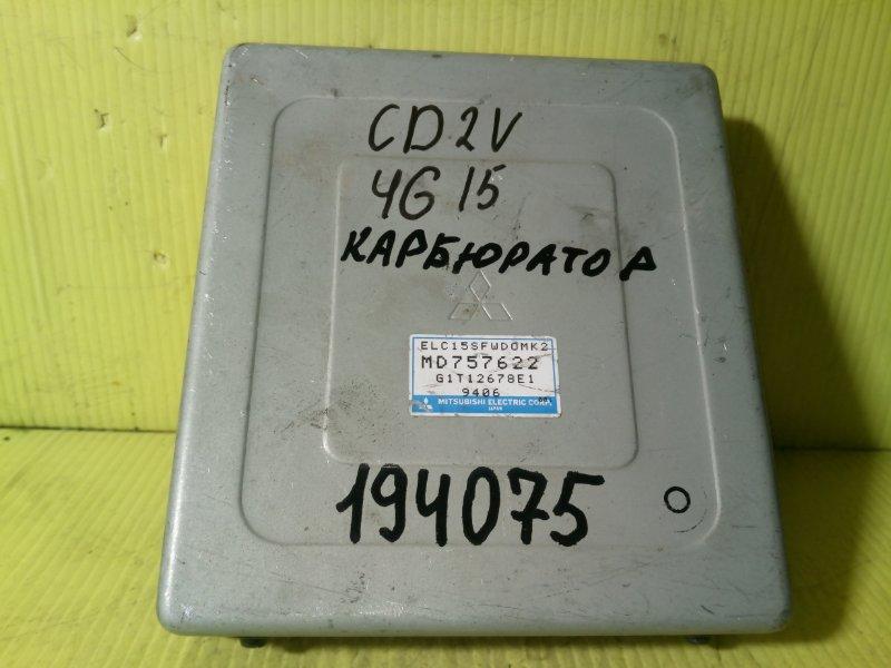 Компьютер (блок управления) Mitsubishi Libero CD2V 4G15