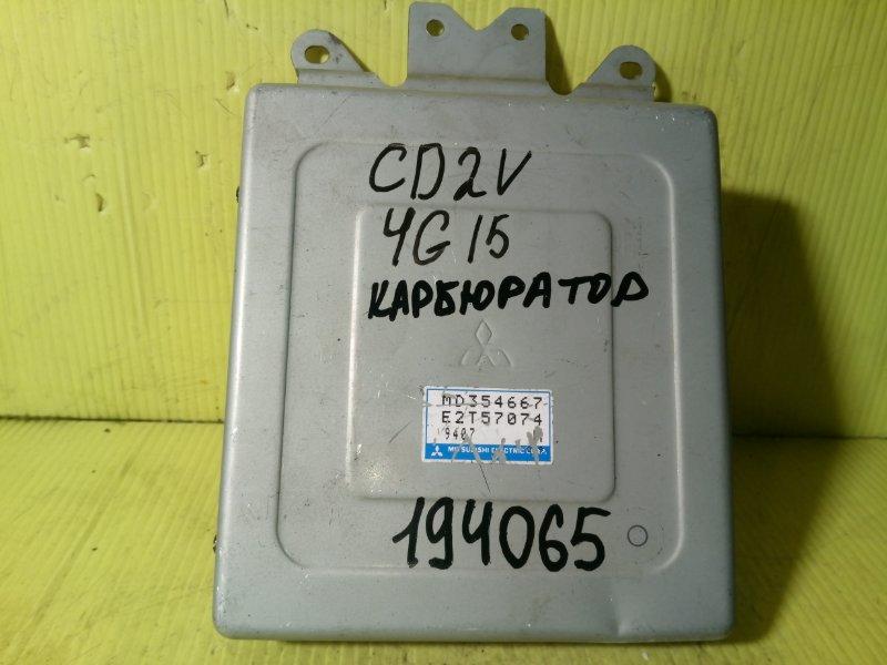 Компьютер (блок управления) Mitsubishi Libero CD2V 4G15 MD354667 E2T57074 9407