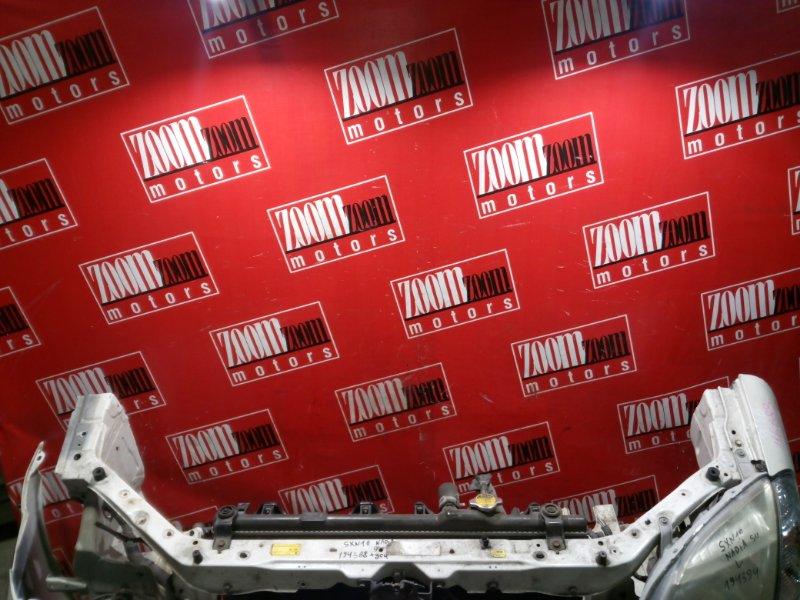 Рамка радиатора Toyota Nadia SXN10 3S-FE 1996 передняя белый