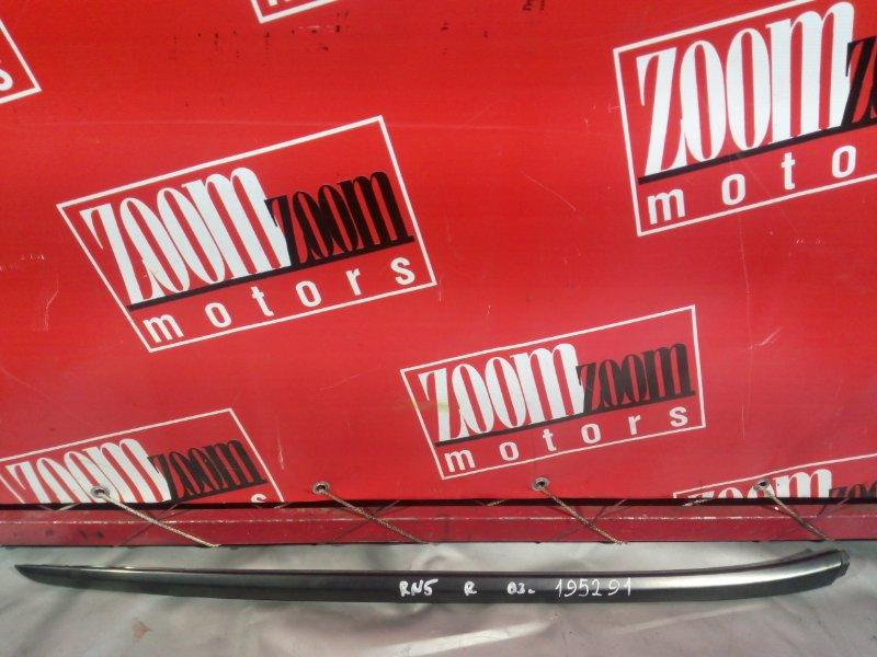 Молдинг лобового стекла Honda Stream RN5 K20A передний правый