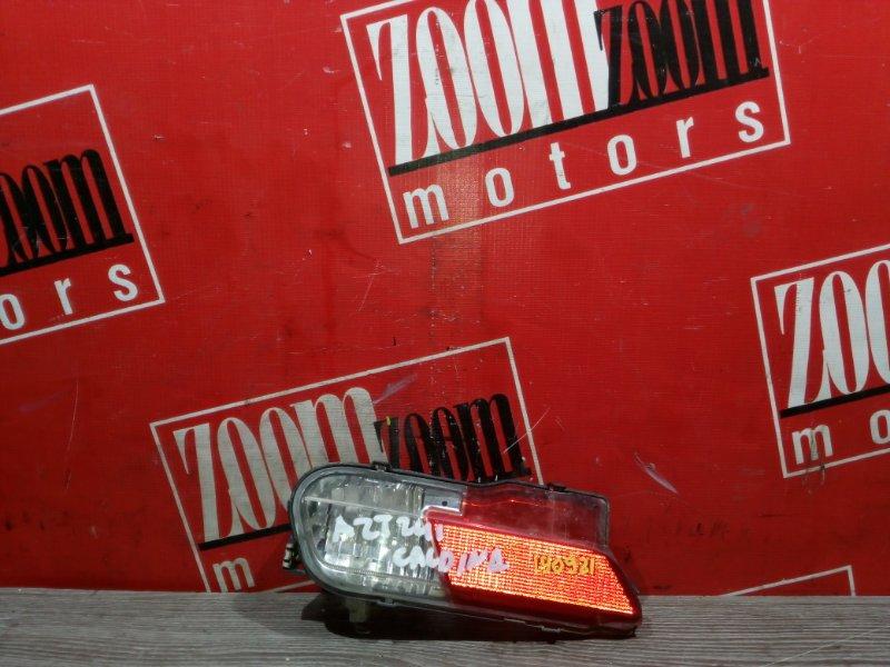 Катафот в бампер Toyota Caldina AZT241 1AZ-FSE 2002 задний правый 21-59