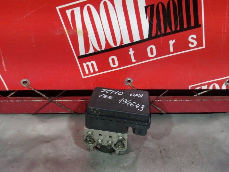Блок abs (модулятор abs) Toyota Opa ZCT10 1ZZ-FE