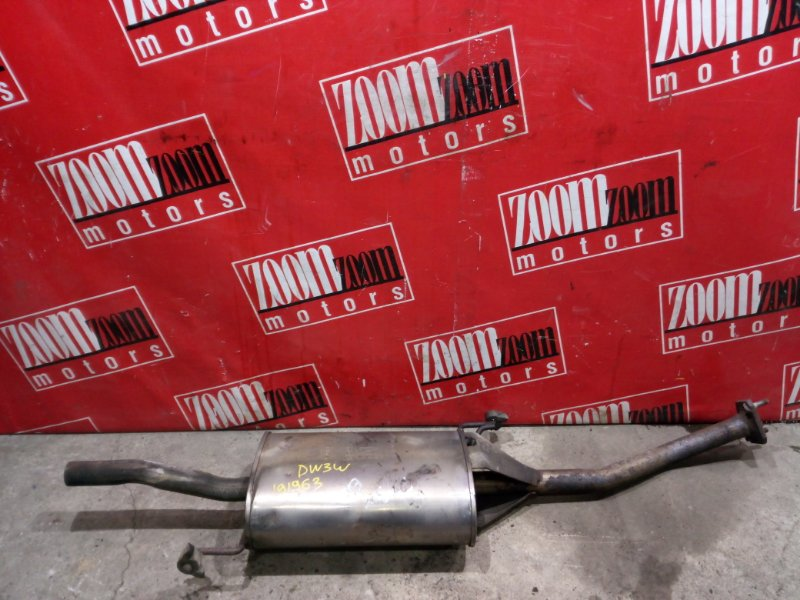 Глушитель Mazda Demio DW3W B3 1996 задний