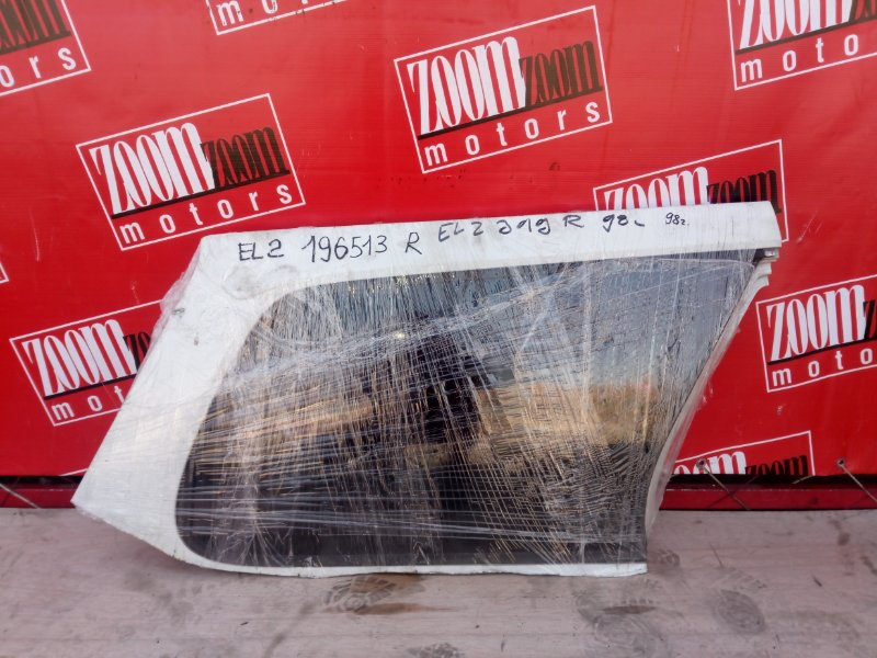 Стекло собачника Honda Orthia EL2 B20B 1996 заднее правое