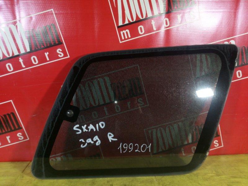 Стекло собачника Toyota Rav4 SXA10 3S-FE заднее правое