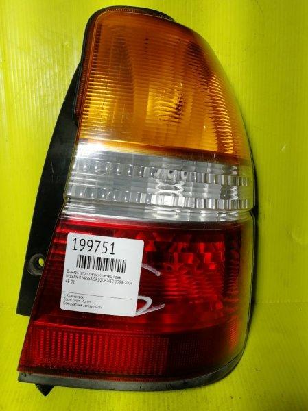 Фонарь (стоп-сигнал) Nissan R'nessa N30 SR20DE 1998 передний правый 48-01