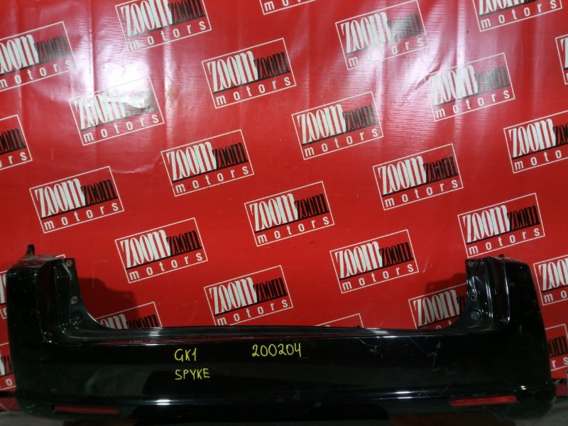 Бампер Honda Mobilio Spike GK1 L13A 2005 задний черный