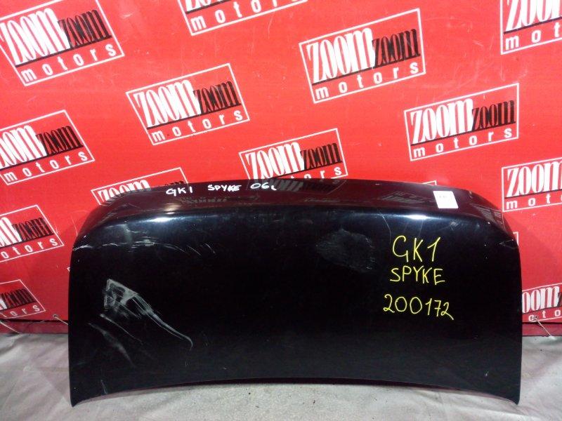 Капот Honda Mobilio Spike GK1 L15A 2006 передний черный