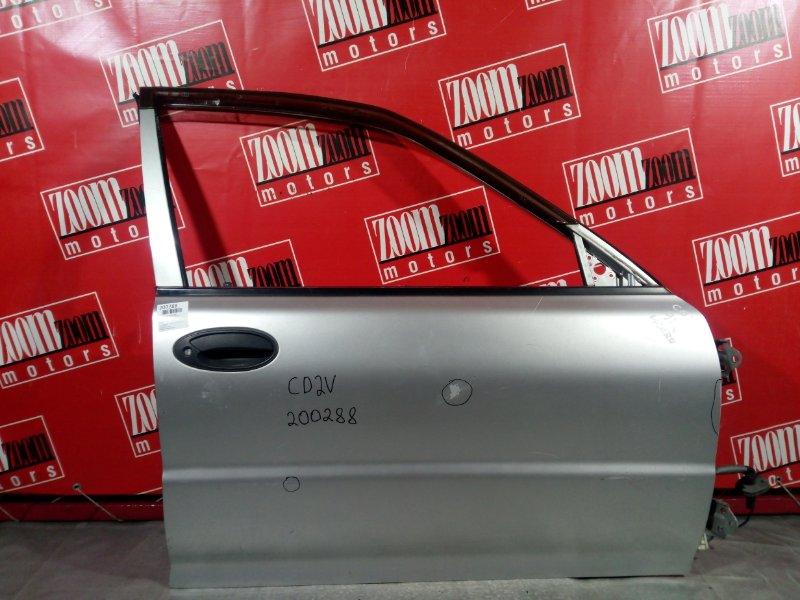 Дверь боковая Mitsubishi Libero CD2V 4G15 передняя правая серебро