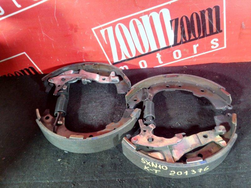 Колодки тормозные Toyota Nadia SXN10 3S-FE задние