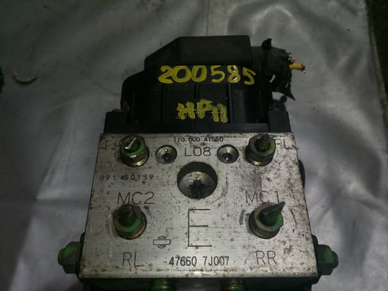 Блок abs (модулятор abs) Nissan Primera HP11 QG18DE 1999