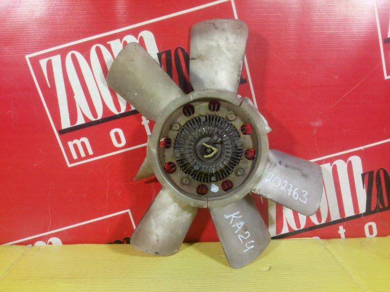 Вискомуфта вентилятора радиатора Nissan KA24DE