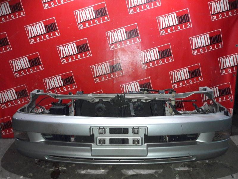 Бампер Toyota Corona Exiv ST202 3S-FE 1993 передний серебро