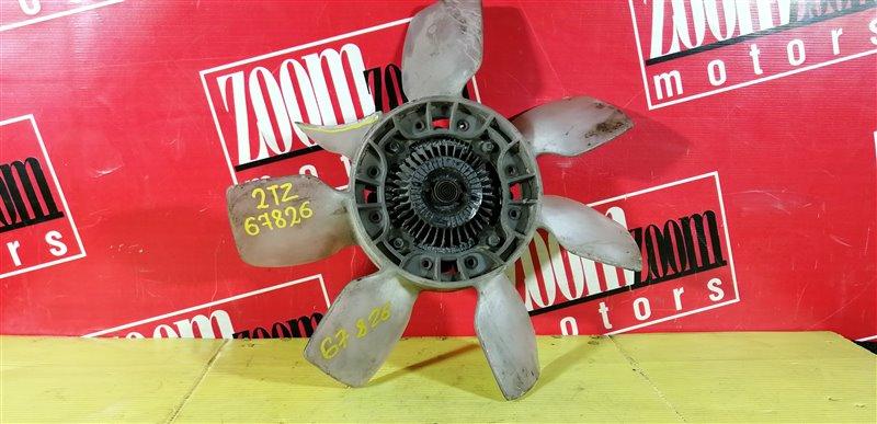 Вискомуфта вентилятора радиатора Toyota Estima 2TZ-FE