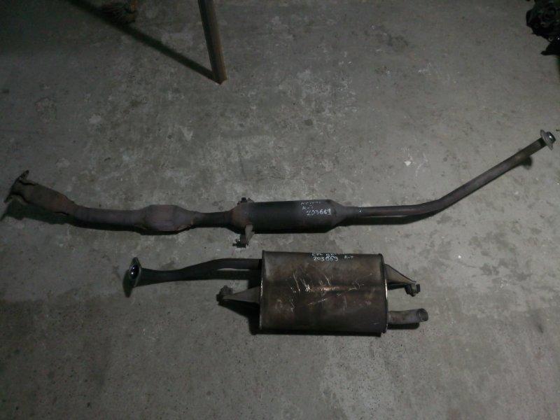 Глушитель Toyota Allion NZT240 1NZ-FE 2001