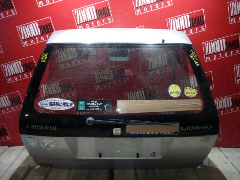 Дверь задняя багажника Mitsubishi Libero CB2V 4G15 1992 задняя серебро