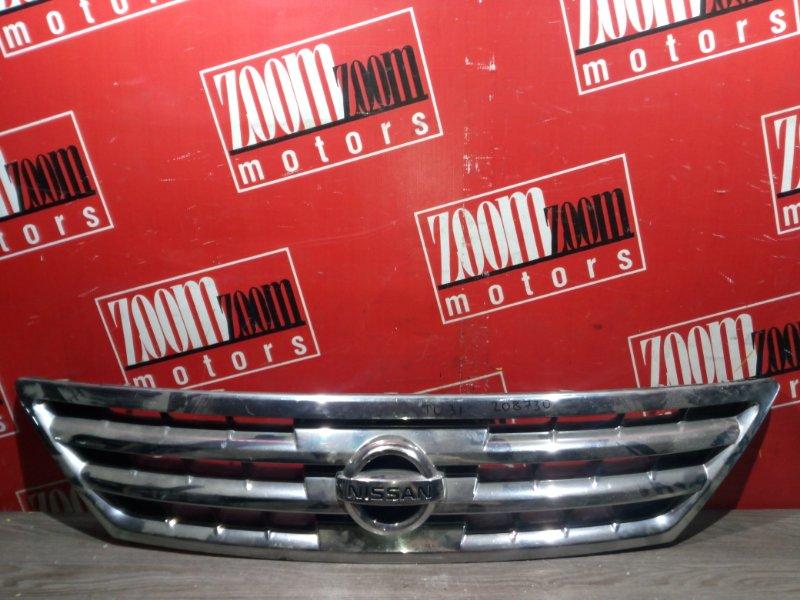 Решетка радиатора Nissan Presage U31 QR25DE 2003 передняя хром