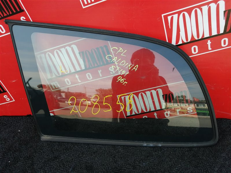Стекло собачника Toyota Caldina ST190 3S-FE заднее левое