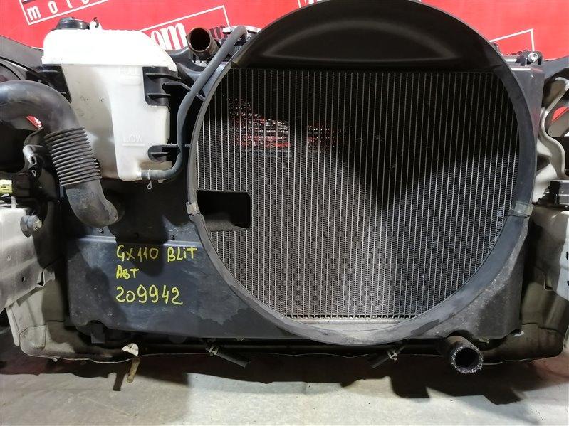 Радиатор двигателя Toyota Mark Ii Blit GX110 1G-FE 2002 передний