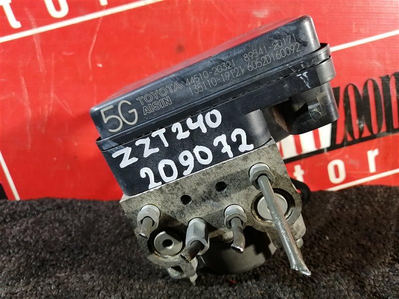 Блок abs (модулятор abs) Toyota Allion ZZT240 1ZZ-FE 2001 передний