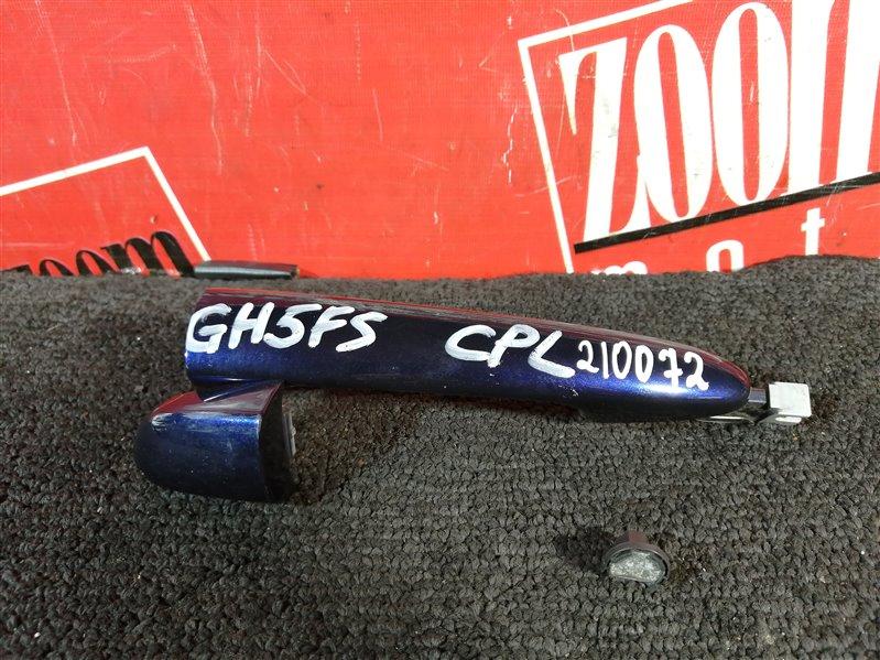 Ручка наружная Mazda Atenza GH5FS 2008 задняя левая синий