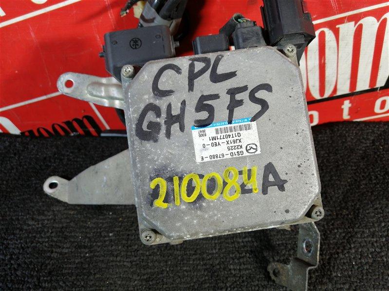 Блок управления рулевой рейкой Mazda Atenza GH5FS 2008 GS1D-67880-E K2225 XJ61X-YEO 01T40771M1