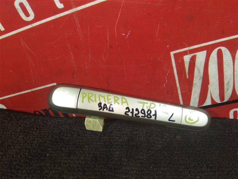 Ручка наружная Nissan Primera WTP12 QR20DE 2001 задняя левая золото
