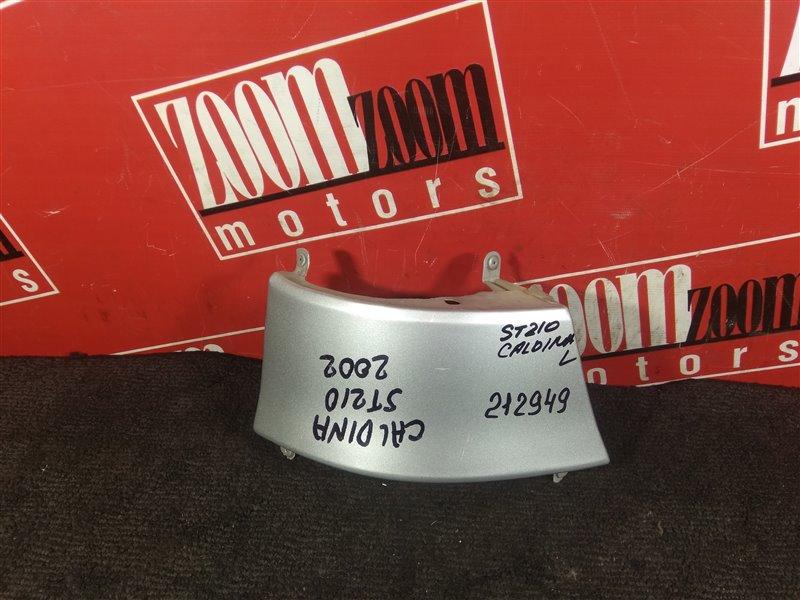 Планка под фонарь Toyota Caldina ST210 3S-FE 2002 задняя левая серебро