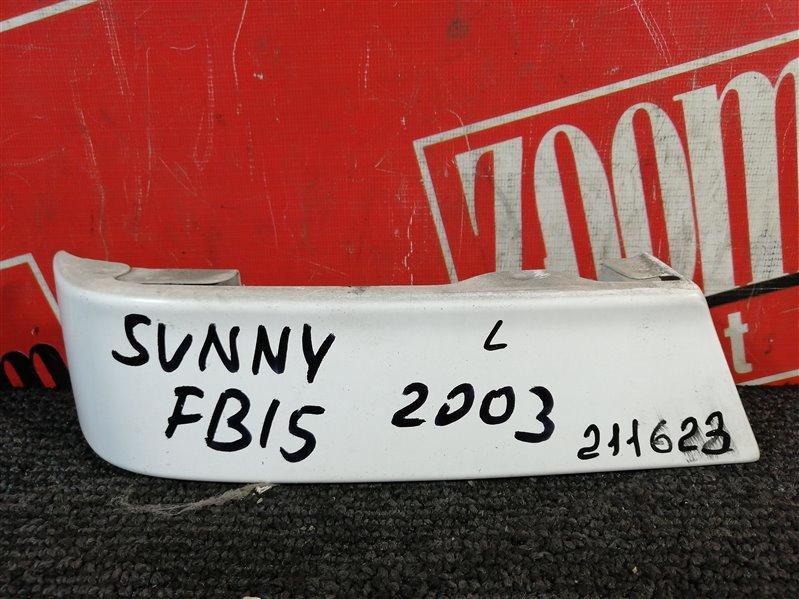 Планка под фонарь Nissan Sunny FB15 QG15DE 2003 задняя левая белый