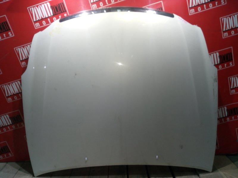 Капот Toyota Mark Ii Blit GX110 1G-FE 2001 передний белый перламутр