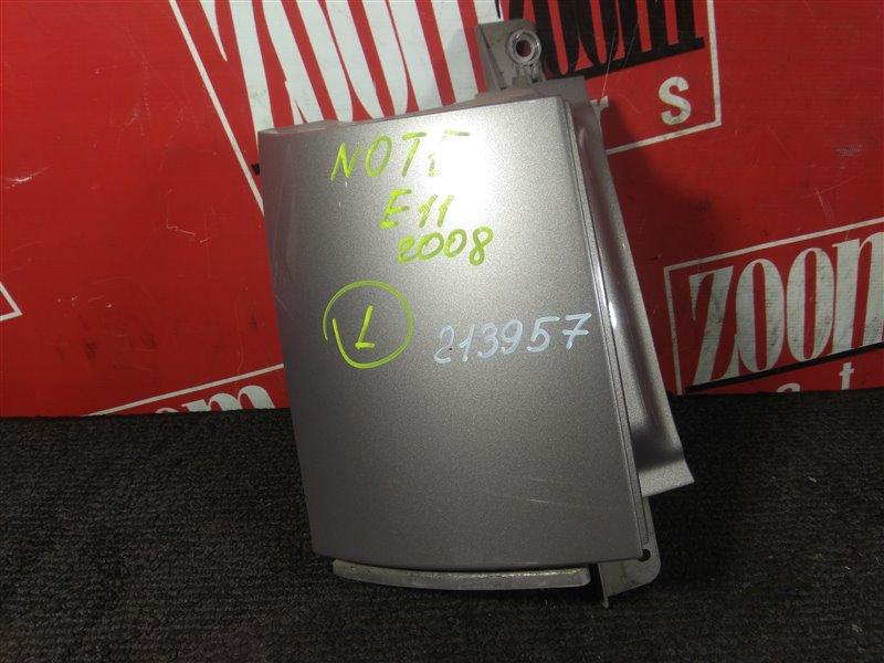 Планка под фонарь Nissan Note E11 HR15DE 2005 задняя левая серо-розовый