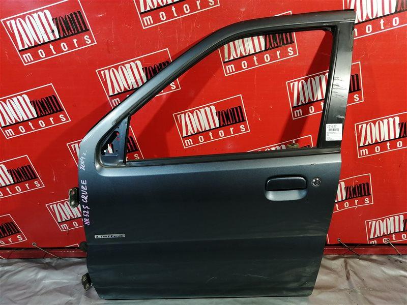 Дверь боковая Suzuki Chevrolet Cruze HR52S M13A 2000 передняя левая серый