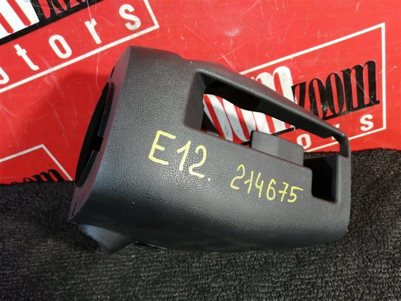Кожух рулевой колонки Nissan Note E12 HR15DE 2012 передний серый