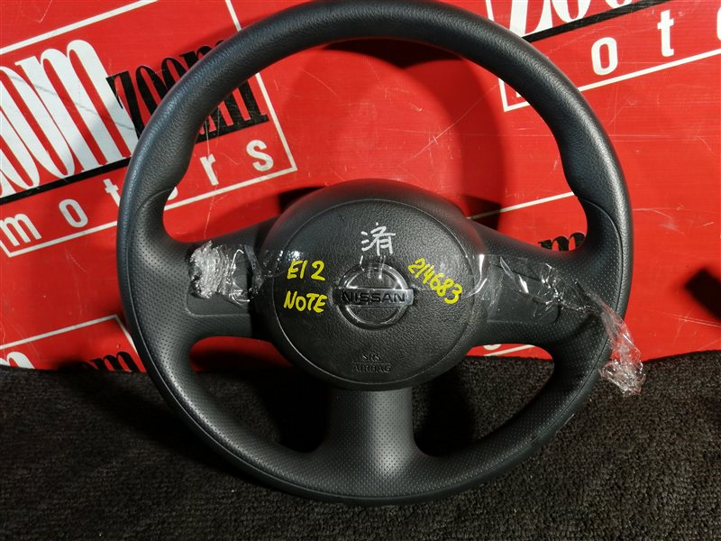 Руль Nissan Note E12 HR15DE 2012 передний серый