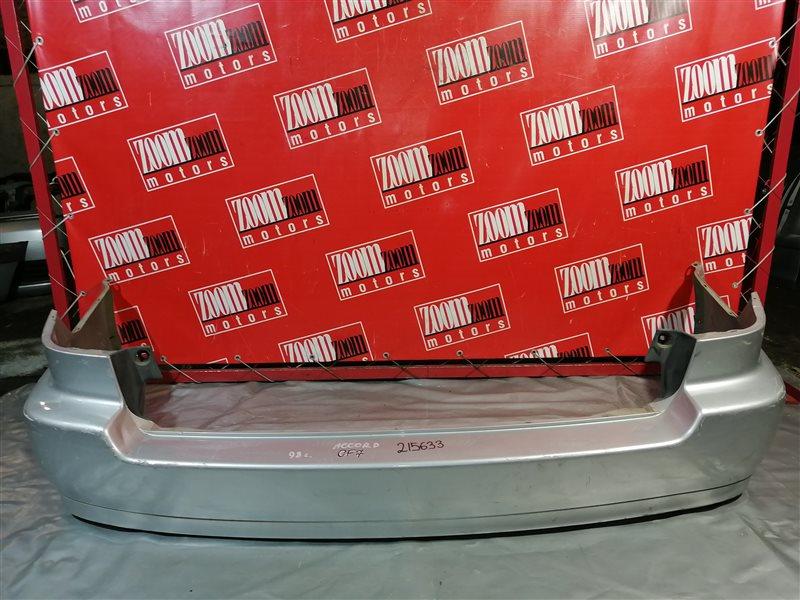 Бампер Honda Accord Wagon CF7 F20B 1999 задний серебро