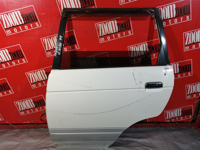 Дверь боковая Daihatsu Pyzar G303G HD-EP 1996 задняя левая белый